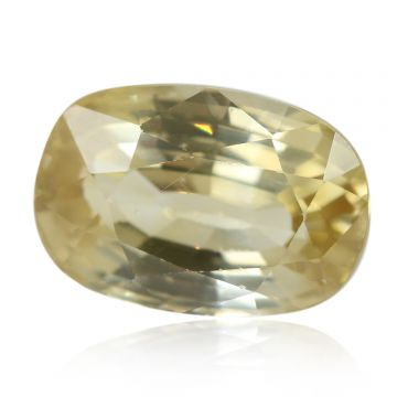 Natural Yellow Zircon AGR Lab Certified  Cts 4.53 Ratti 4.98