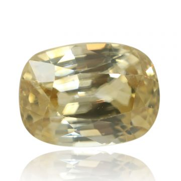 Natural Yellow Zircon AGR Lab Certified  Cts 4.12 Ratti 4.53